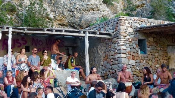 Hippy drumming